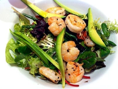 Prawn and Avocado Salad
